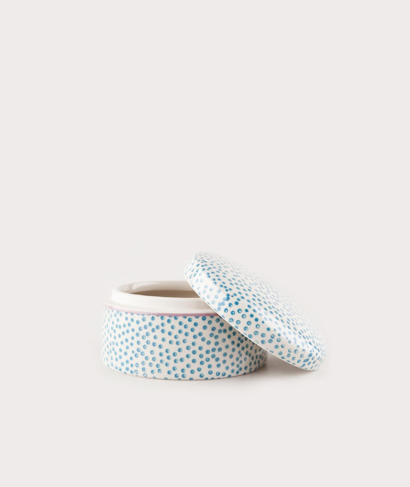 BLOOMINGVILLE Patrizia Jar blue dot