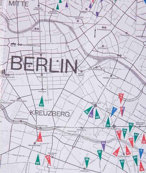 STIL IN BERLIN Map 2018
