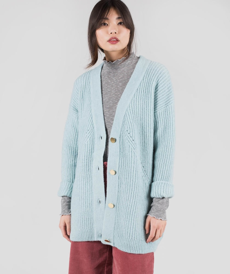 SELECTED SFMinty LS Knit Cardigan
