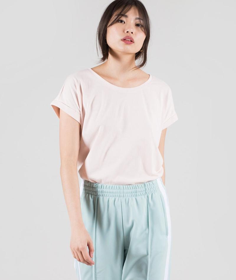 VILA Vidreamers Pure T-Shirt peach blush