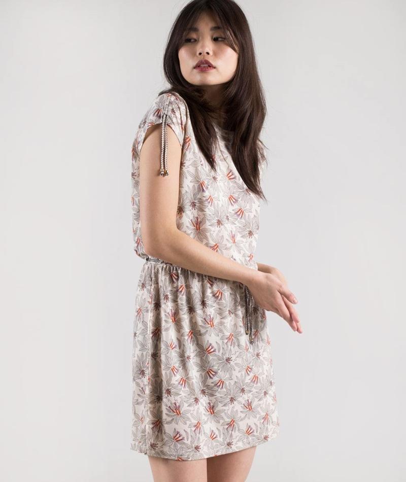 SESSUN Heloise Kleid fleur sel
