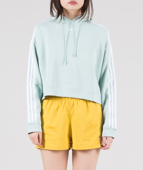 ADIDAS Cropped Hoodie ash green