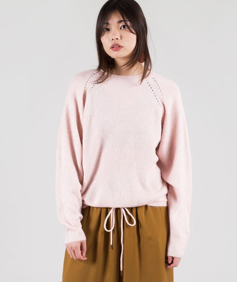 VILA Visimi Pullover peach blush
