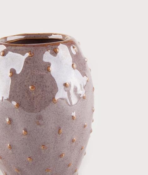 MADAM STOLTZ Stoneware Vase dots 8,5x11