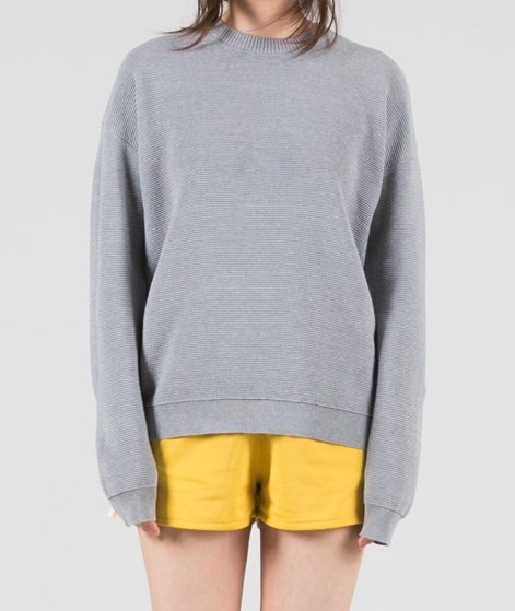 M BY M Elania Pullover light grey melang