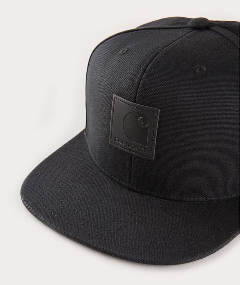 CARHARTT Logo Cap black