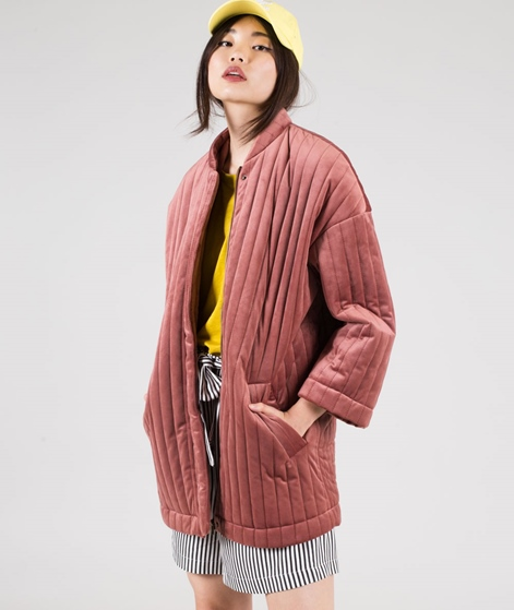 MOSS CPH Qwin Stripe Jacke faded rose