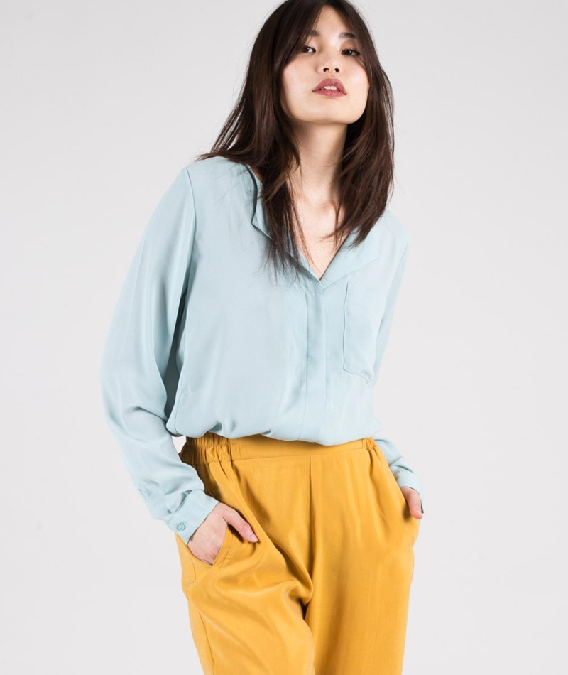 SELECTED FEMME SFDynella Bluse gray mist