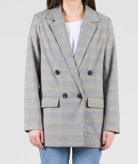 GLOBAL FUNK Derby Blazer glen check gelb