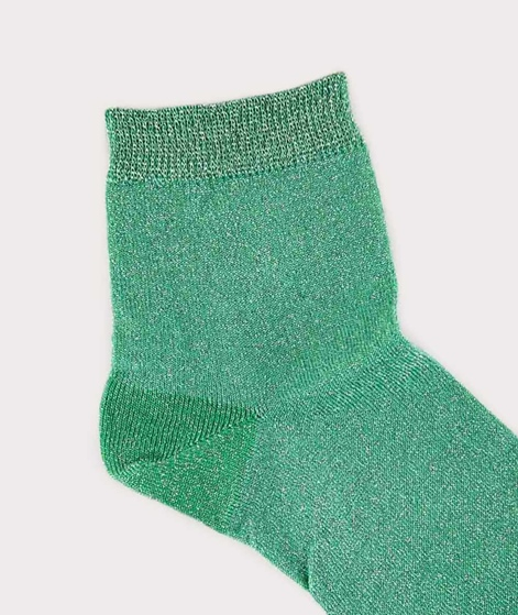 MP DENMARK Pi Socken green glitter