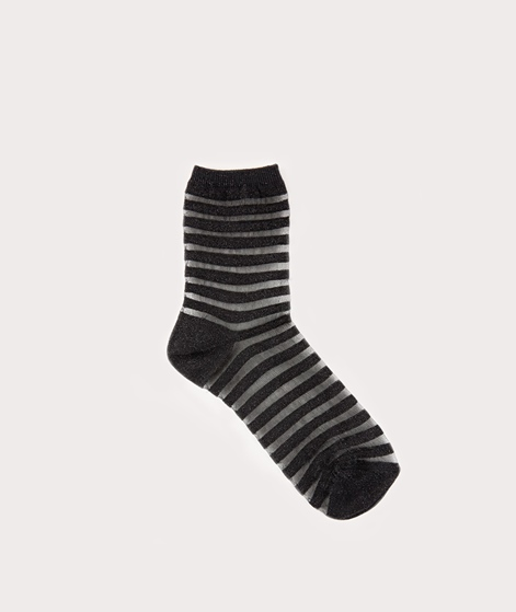 MP DENMARK Olivia Socken black glitter