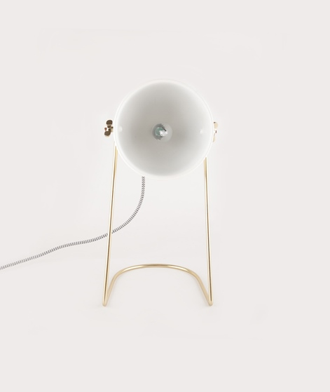 MADAM STOLTZ Table lamp off white
