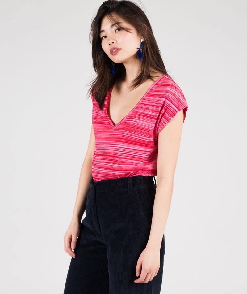 KAUF DICH GLÜCKLICH Claire T-Shirt pink