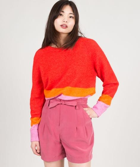 SAMSOE SAMSOE Nor O-N short Pullover stripes