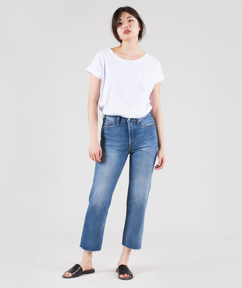 LEVIS Wedgie Straight Jeans partner