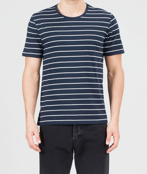 NOWADAYS Stripe T-Shirt obsidian