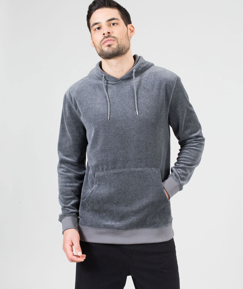 W.A.C.- WE ARE CPH Ulich Hoodie grey