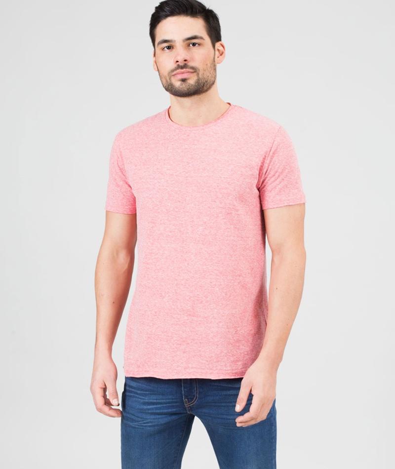 REVOLUTION Vilfred O-N T-Shirt red-mel
