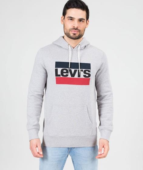LEVIS Graphic Po Pullover midtone grey