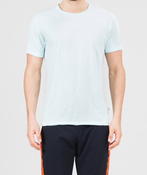 REVOLUTION Round neck T-Shirt aqua