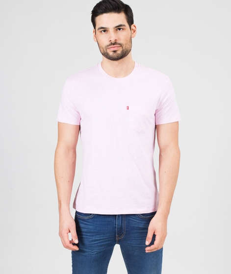 LEVIS SS Sunset Pocket T-Shirt rosa