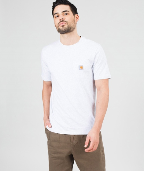 CARHARTT Pocket T-Shirt ash heather
