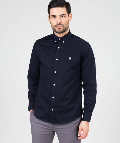 CARHARTT L/S Madison Hemd dark navy/wax