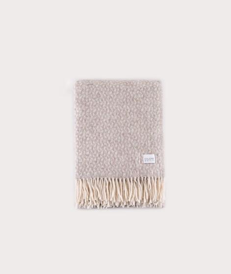 COUDRE BERLIN Wool Blanket beige
