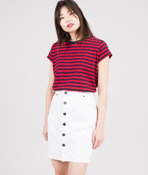 MADS NORGAARD Teasy T-Shirt navy/red