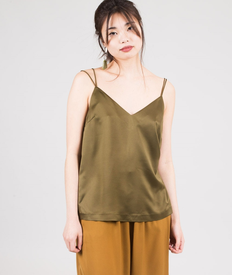 TWIST & TANGO Mable Top moss green