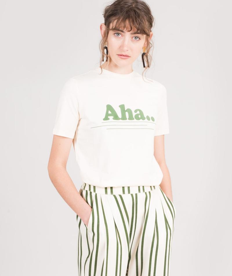 MOSS CPH Oui Aletta Tee T-Shirt ecru