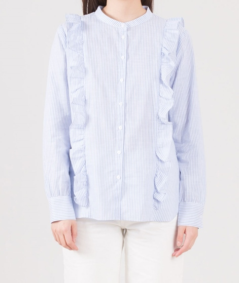 SECOND FEMALE Spectra Bluse shirt blue