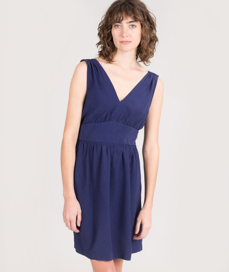 SESSUN Magic Kleid night blue