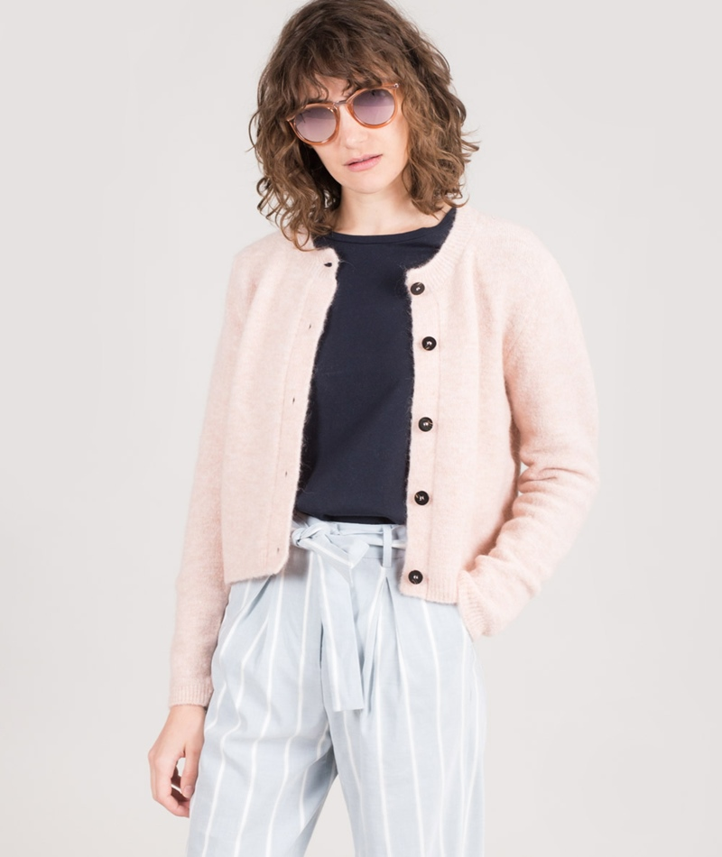 ANECDOTE Emmy Cardigan light pink