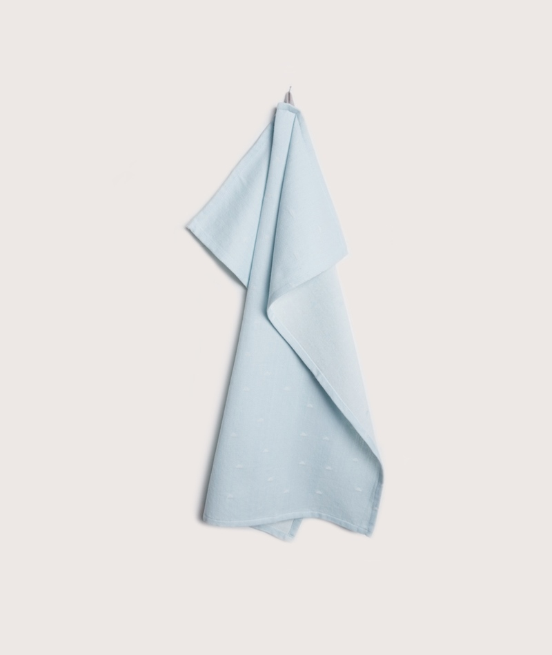 BLOOMINGVILLE Kitchen Handtücher blau