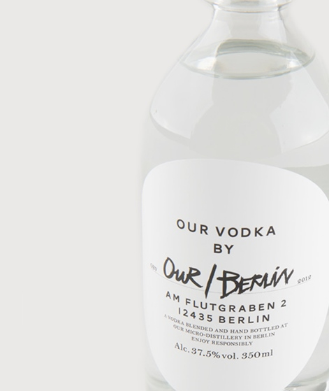 OUR/BERLIN Vodka