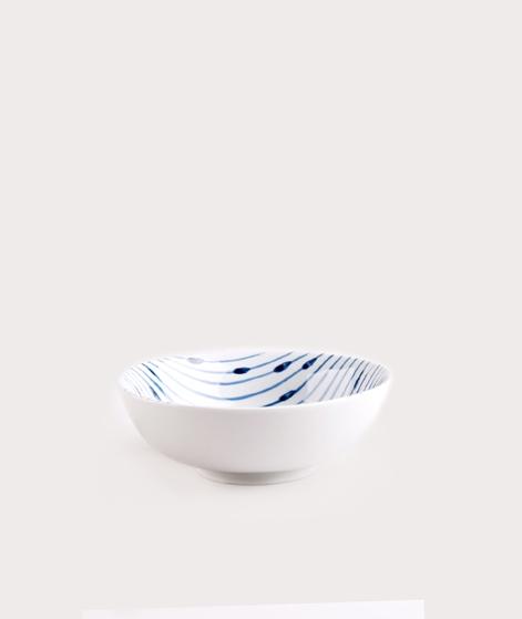 BROSTE Bowl Skagen String white blue