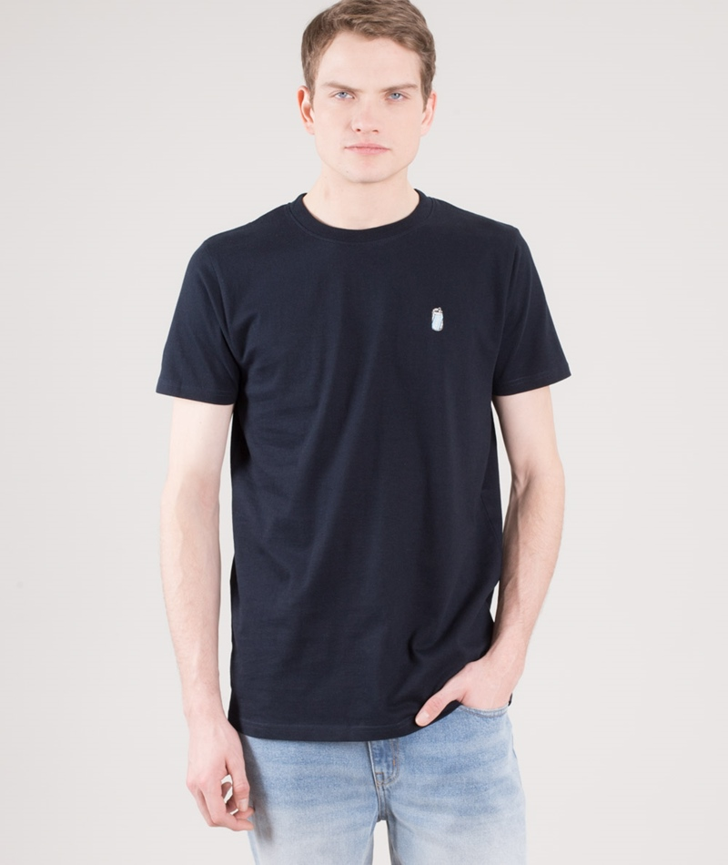 WEMOTO Can T-Shirt navyblue