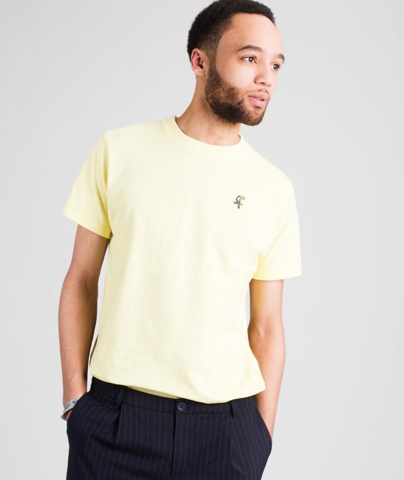 WEMOTO Toucan T-Shirt yellow