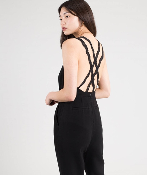 SUNCOO Combi-Pantalon Thea Overall noir