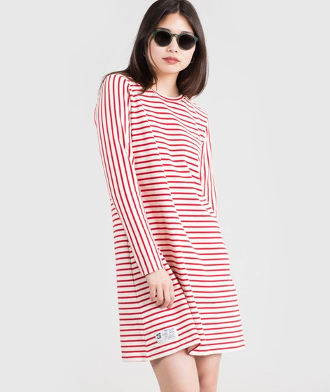 MADS NORGAARD Didda L Kleid red/white