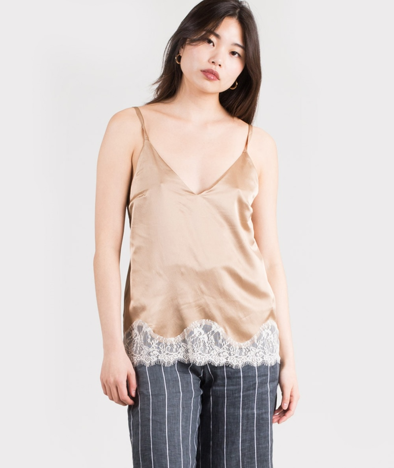 SAMSOE SAMSOE Lotus Top light khaki