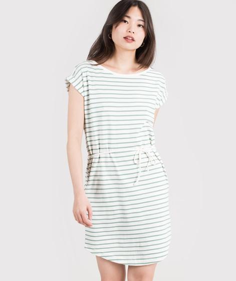 WEMOTO Kano stripe Kleid offwhite-jade