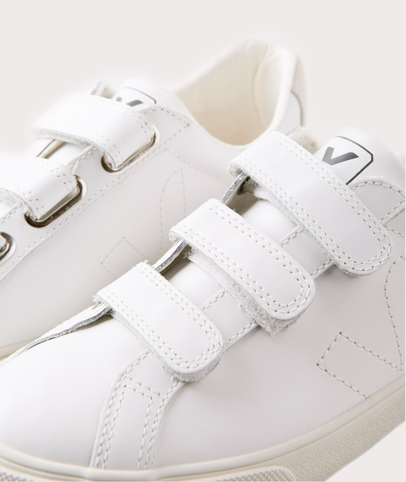 VEJA Esplar 3-Lock Leather Sneaker white