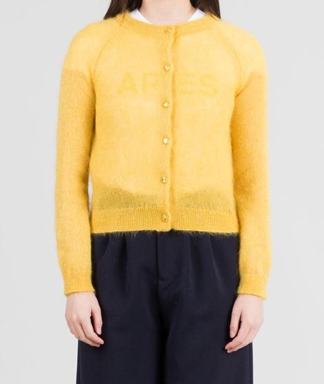 DES PETITS HAUTS Croisic Cardigan jaune