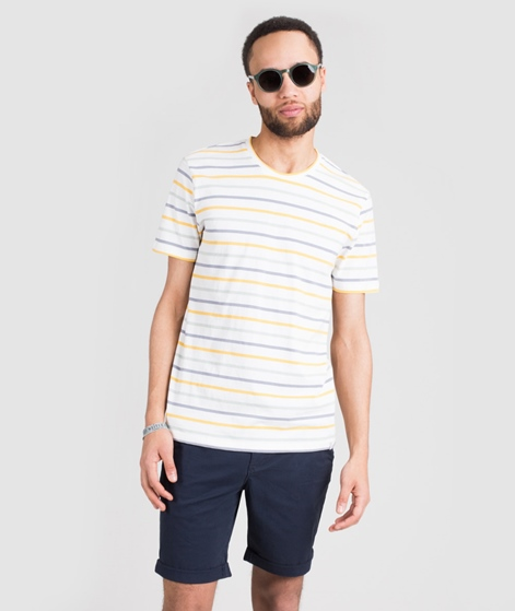 MINIMUM Wilson Y/D Striped T-Shirt ecru