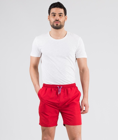 REVOLUTION Poly Swim Shorts red