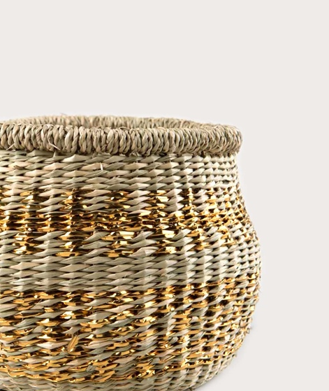 LIV Rumba Basket groß gold pattern