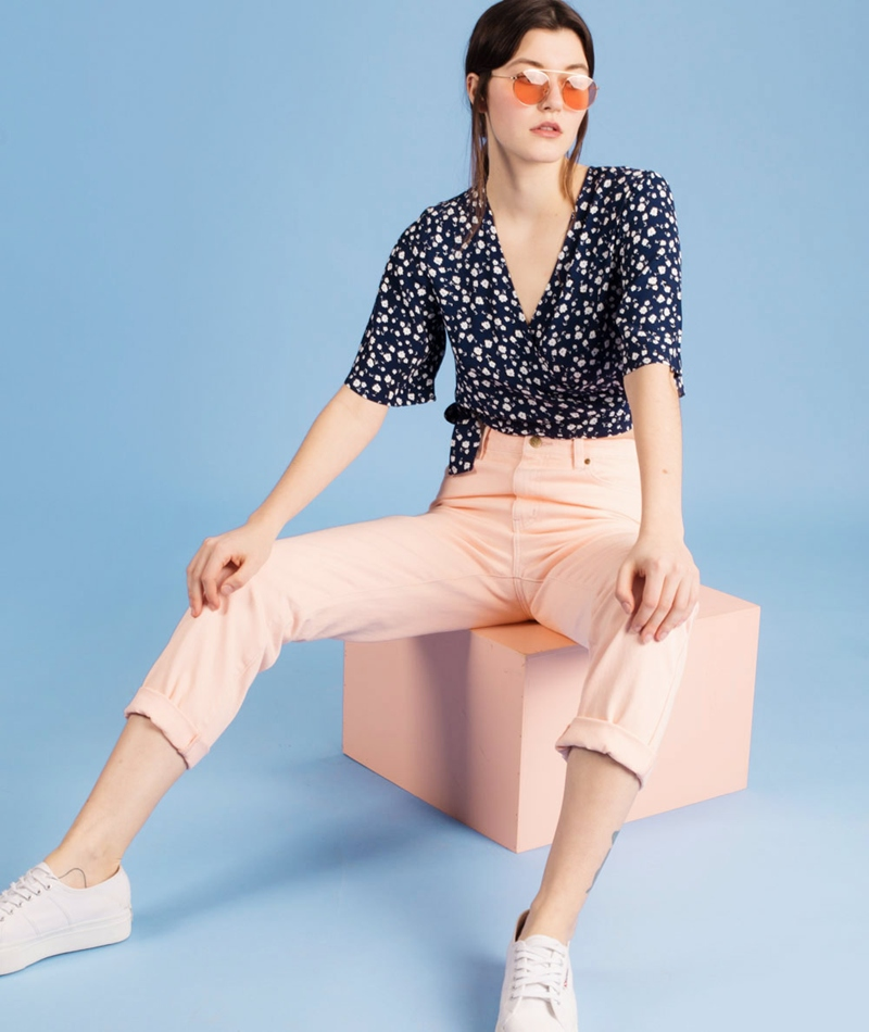 MINKPINK Vo Vo Over Dye Scando Jeans