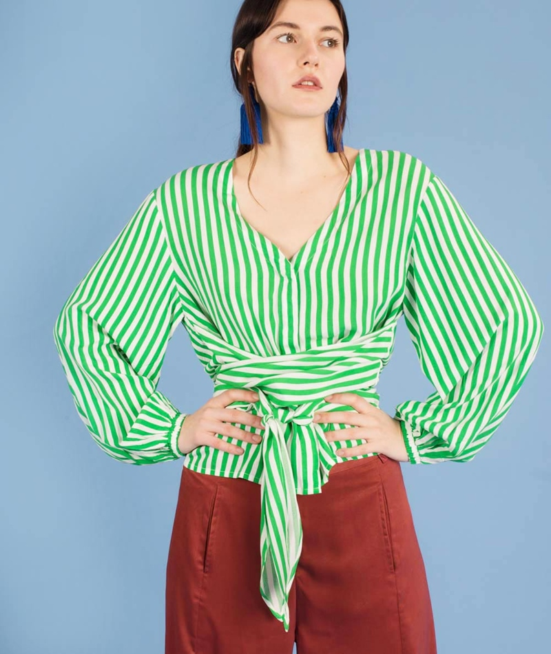 M BY M Astrid Britta Bluse jolly stripes